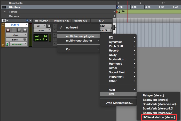 Loading UVI Workstation in Pro Tools – UVI Support
